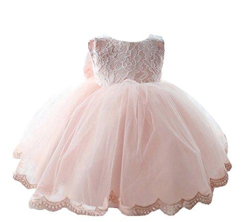 Happy Cherry - Baby Mädchen Kleid Ärmellos - rosa - coole ...