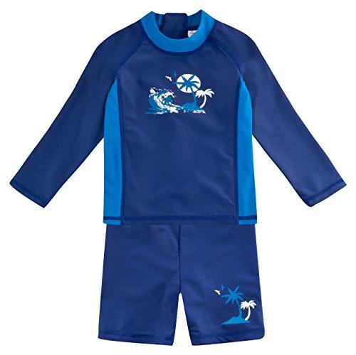 landora baby junge badebekleidung lang rmlig blau 2er. Black Bedroom Furniture Sets. Home Design Ideas