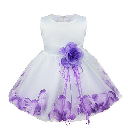 kleid lila mädchen