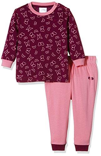 twins baby m dchen schlafanzug schmetterling violett 2 teilig coole. Black Bedroom Furniture Sets. Home Design Ideas